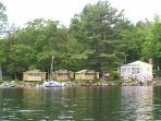 Cozy Cove Cottage House on Lake Winnipesaukee (CAS10W)