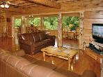 SAVE $100 PR NIGHT- STUNNING FAMILY REUNION CABIN!