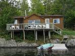 3 BEDROOM COTTAGE AT LANG LAKE RESORT