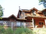 Second Nature-Enjoy this Beautiful Log Home and all the Wilderness Surrounding it