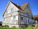 Beachfront Villa. Courseulles-sur-Mer, Normandy,FR