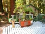 Guerneville Cottage, Decks, Skylight,Hot Tub!