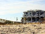Kure Beach Luxury Direct Oceanfront Home