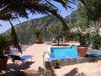 Amalfi Coast Accommodation with Pool - Furore 1