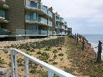 Watch the whales from Ocean Front private balcony