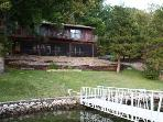 Sunset Cove - Quaint Lake Home, Great Lake Views, No Wake Cove. 36 MM Osage Arm.