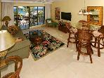 Akahi Oceanview 1BR, Top Floor D-Bldg (KAD603)