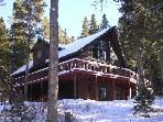 Warm, Luxurious & Inviting 5BR/4BA Breckenridge Mountain Chalet - Right on Breck's Peak 7! Panoramic Mountain Views, Hot Tub, Private Lot