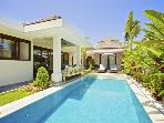 On the beach in Sanur, Luxury 3 bed Villa @ Kejora