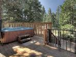 Mullin North Lake Tahoe Vacation Rental - Hot Tub