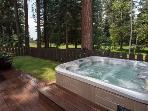 Hill Vacation Rental Cabin in Kings Beach -Hot Tub