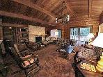 Cozy pet-friendly 2BR cabin with fireplace #66