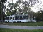 2 Bedroom Lake Front  Cottage with Boat Dock