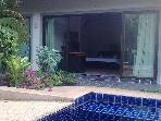 5min from NaiHarn beach. Triples w/Garden-13m pool