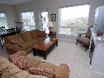 Your Dogs are welcome in this luxury beachfront condo with GREAT Views!