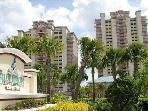 Luxury Condo 2 BR 2 Bath, balconies facing Disney!