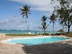Baharini, Diani,  3 bedroomed Cottage on beach