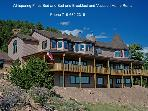 Luxury 8 bedroom Vacation Home &amp; gold mining town