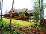 Owls Roost Cabin - Upscale Cabin with Outdoor Fireplace Minutes from Cherokee