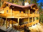 Log Cabin with Pool Table, Outdoor Fireplace, and Wi-Fi - Mountain Pearl Cabin