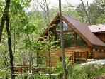 White Tail Hollow - Elegant Rental Cabin with Wi-Fi and Hot Tub Minutes from Rafting