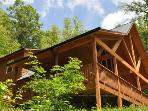 Upscale, Secluded Cabin with View and Hot Tub