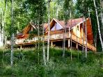 Spectacular Log Home and Guest House