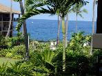 Ocean Front Kona Makai Furnished 1 bedroom Condo