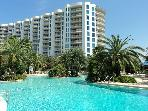 Fantastic Two Bedroom Two Bath Condo Overlooking 11,000 sqft Pool