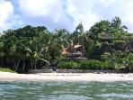 Villa on private surfing beach: Prices for 2-10ppl