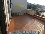 ISCHIA-Penthouse mit groer Terrasse 2 Meter vom herrlichen Blick vom Meer --Mai bis September--