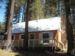 Darling Heavenly Valley Log Cabin!