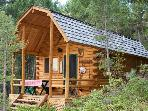 IDAHO LOG CABIN AT WILLIAMS LAKE-SLEEPS 6