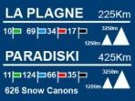 Chalets Edelweiss 256A/X  La Plagne 1800 PARADISKI