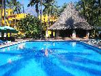 Large 3 bedroom condo, Club Santiago, Manzanillo