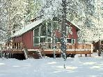 3BR Modern, Lodge-Style Home Surrounded by National Forest in Perfect Location - Just Added!