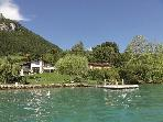 5 Star waterfront villa for 10 people lake Annecy