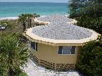 Gulf Front Octagonal House with Panoramic view