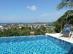 Amazing 5-bedroom pool villa stunning seaview Kata