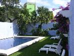 Hacienda Azul - Giant Pool&Garden, Quiet Street, Rustic Mexican