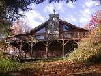 Walch Smoky Mountain Log Cabin Creekside Retreat