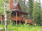 Sawtooth 110 - 3 Bedroom, 3 Bath Chalet. Sleeps 8. WIFI. One of our few homes with A/C.