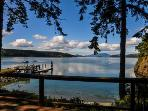 Lopez Island Hunter Bay Waterfront Home