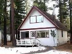 Idyllic Cabin with 3 BR & 2 BA in South Lake Tahoe (0963T - 963 Tanglewood Drive)