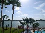 Isla Del Sol  4th floor corner Bay Front Bahia Vista Condo - Don CeSar View!