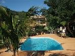 Apartments with mountain & sea view, La Gaulette,