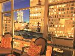 2 BR/2BA in the Pearl, City Views, Rooftop Spa!