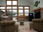Trademark 62: Spacious Old Town townhome with unbeatable views of the divide and ski slopes.
