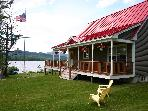 Moosehead Lake Waterfront Chalet w/ Permanent Dock