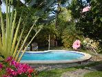 Charming Villa Carribean 50 yards from a Beach